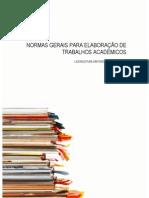Normas Gerais Trabalhos Academicos 09-10.Licenciatura