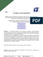 Prática 3 - Calibração de termômetros
