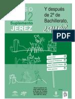Y después de 2º de Bachillerato, ¿qué?. Oferta formativa de Jerez. Curso 2011/12