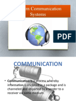 Modern Communication Systems PART 1 Television