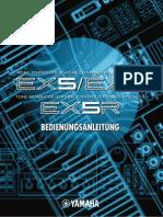 Yamaha Ex5 Ex5r Ex5s Ex7 Anleitung