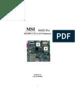 msi 860 mobo 6508V1