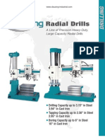 Clausing Radial Drill Catalog