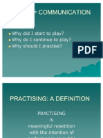 How to Practise
