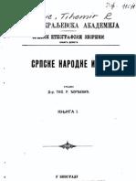 Tihomir Djordjevic - Srpske Narodne Igre - Knjiga 1