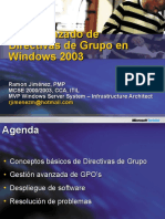 Uso Avanzado de GPOs en Windows Server 2003