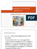 LFBUS - Employment Law