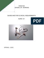 Clinical Checklist
