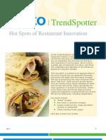 TrendSpotter_Hot Spots of Restaurant Innovation