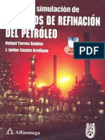 Analisis y Simulacion de Procesos de Refinacion Del Petroleo