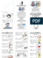 Folder - Manual de Manipuladores de Alimentos