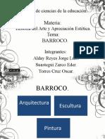 Expo Sic Ion Barroca Eder, Jorge y Oscar...
