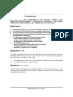 2007 Prova Biologia - Caderno 1 Fase 2