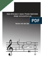High Efficiency Audio Power Amplifier Van Der Zee