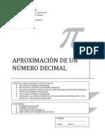 APROXIMACIÓN DE NÚMEROS DECIMALES
