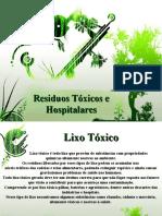 Resíduos Tóxicos e Hospitalares