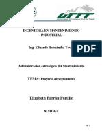 Calculo y Analisis de RCM y AMEF