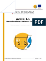GvSIG - Manual Em Italiano