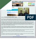 Se presentó oficialmente la página municipal · Hoy Valle Medio