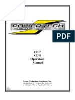 CD 7 8 Operators Manual
