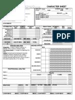 Human Sheet