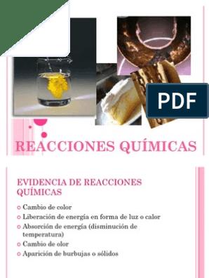 Reacciones Quimicas Y La Vida Cotidiana Reacciones Químicas Cloro