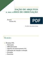 Estrutura de Dados II-Arvores-AVL