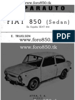Fiat 850 Manual de Taller