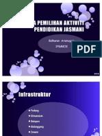 Topik 5 (Kriteria Pemilihan Aktiviti PJ)