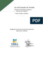 to Interior de La Secret Aria de Educacion Publica 2011