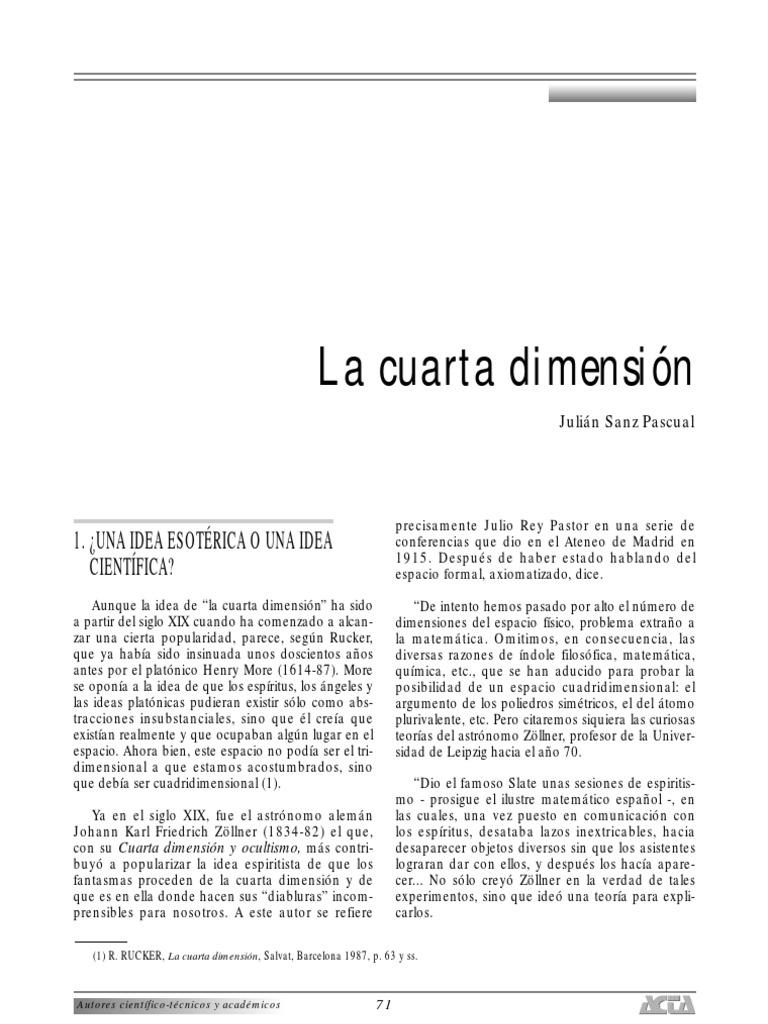 La Cuarta Dimension 09069