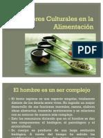Factores Culturales en la Alimentación