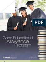 Gano Programs Educational Allowance