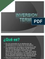 Inversion Termica