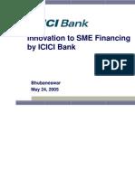 Basak Icici Bank Orissa Sme Pres.3 24-5-05