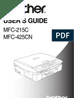 MFC215C User Guide