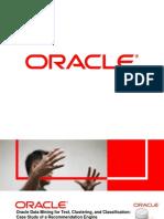 091104-M Hornick-Slides-Oracle Data Mining Case Study