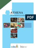 Flyer Athena en Web