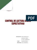 Control Lectura 1