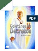 Coletânea de Decretos - Dádivas que recebemos de Deus (Neusa Maria Moraes F. Pinto)