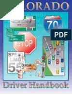 Colorado Drivers Handbook.