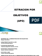 Admin is Trac Ion Por Objetivos (Apo)
