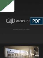 Vrayforc4d Install Guide