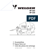 Welger RP220 Parts