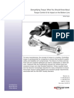 White Paper on Demystifying Torque