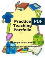 My PRactice Teaching Portfolio
