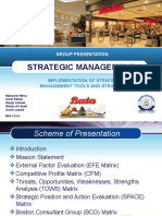 Project - Strategic Management