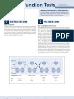 Thyroid Function Tests Brochure