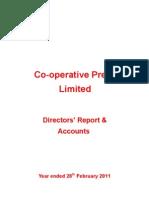 Co-operative Press Annual Report 2010-11