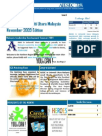 AIESEC UUM Newsletter November 2009